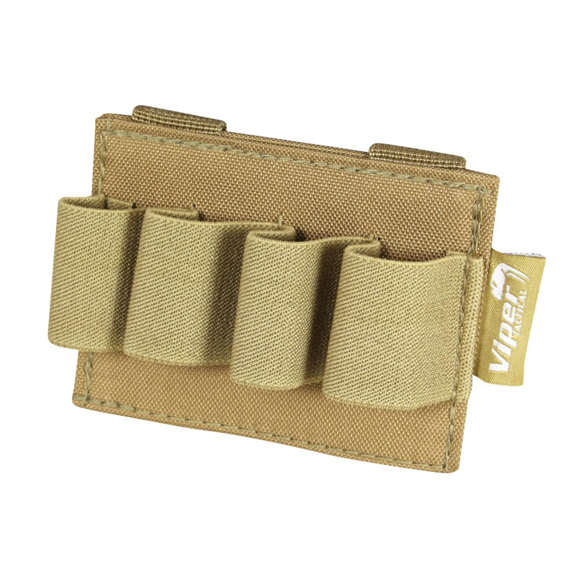 Viper Modular Shotgun Cartridge Holder - Tan