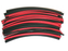 Manufacturer Red & Black Heat Shrink Tubing Large Sizes Kit