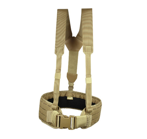 Viper Lazer Skeleton Harness - Coyote