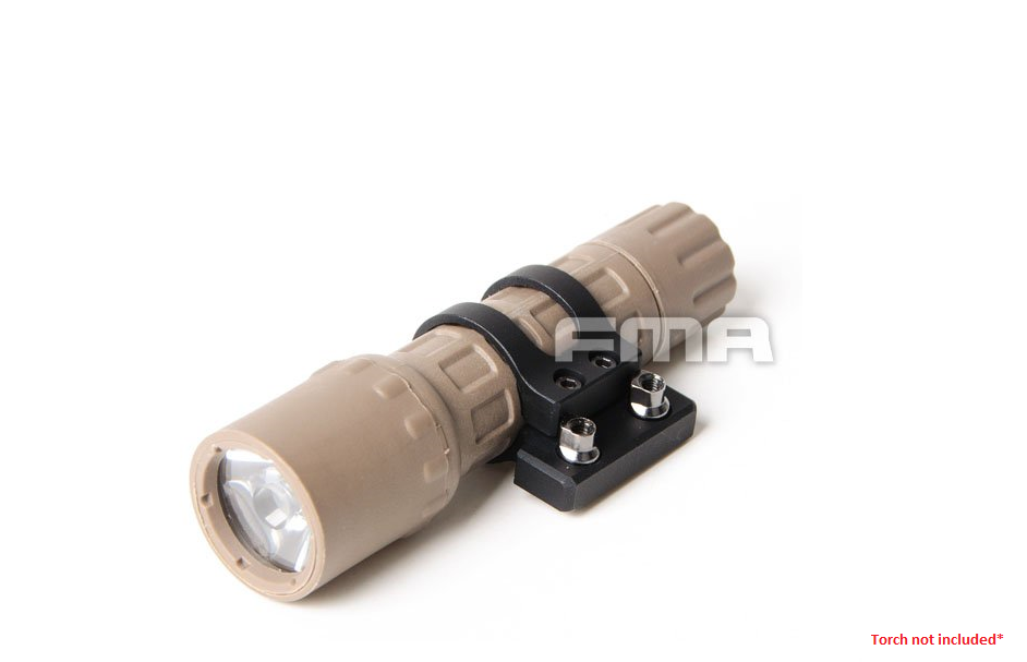 FMA KeyMod Flashlight/Laser Mount - Black