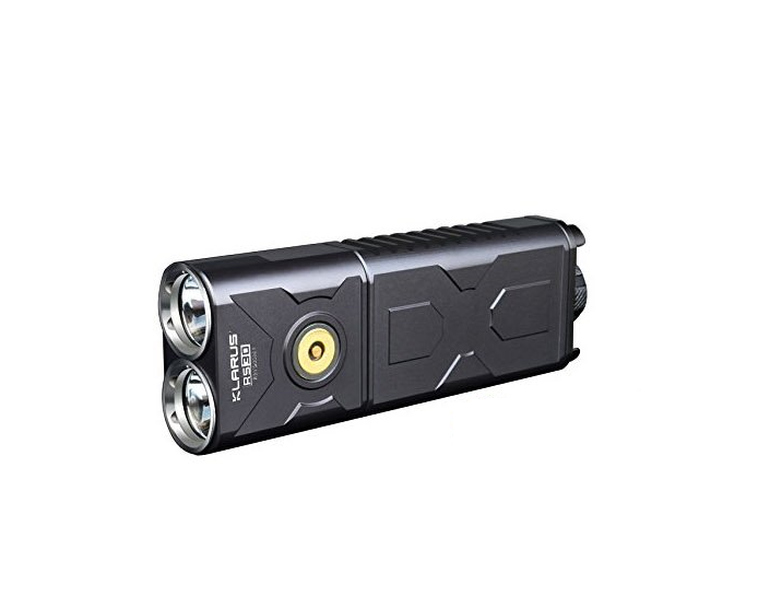 Klarus RS30BA Flashlight & Batteries - 2400LM
