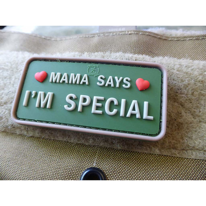 JTG 3D Rubber Mama Says Patch - Multicam