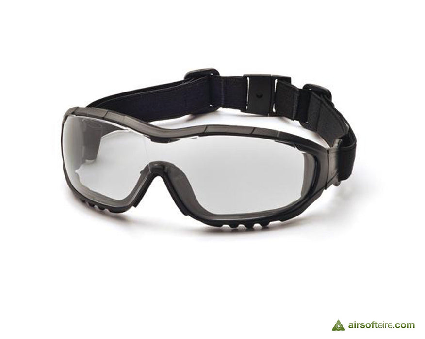 Strike Tactical Hybrid Goggles/Glasses - Black