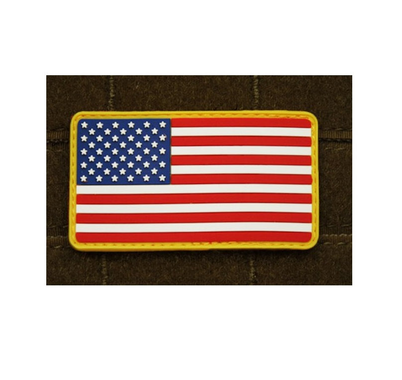 JTG 3D Rubber American Flag Patch