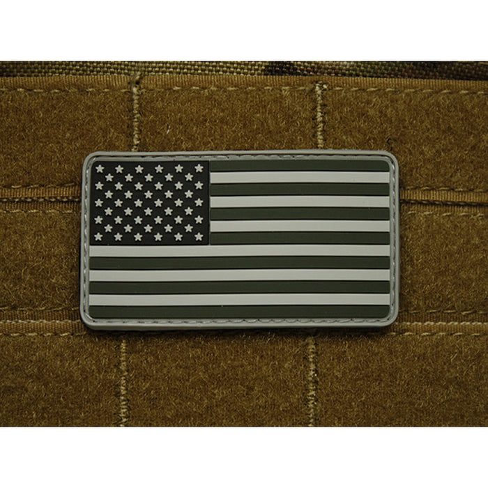 JTG 3D Rubber American Flag Patch - SWAT