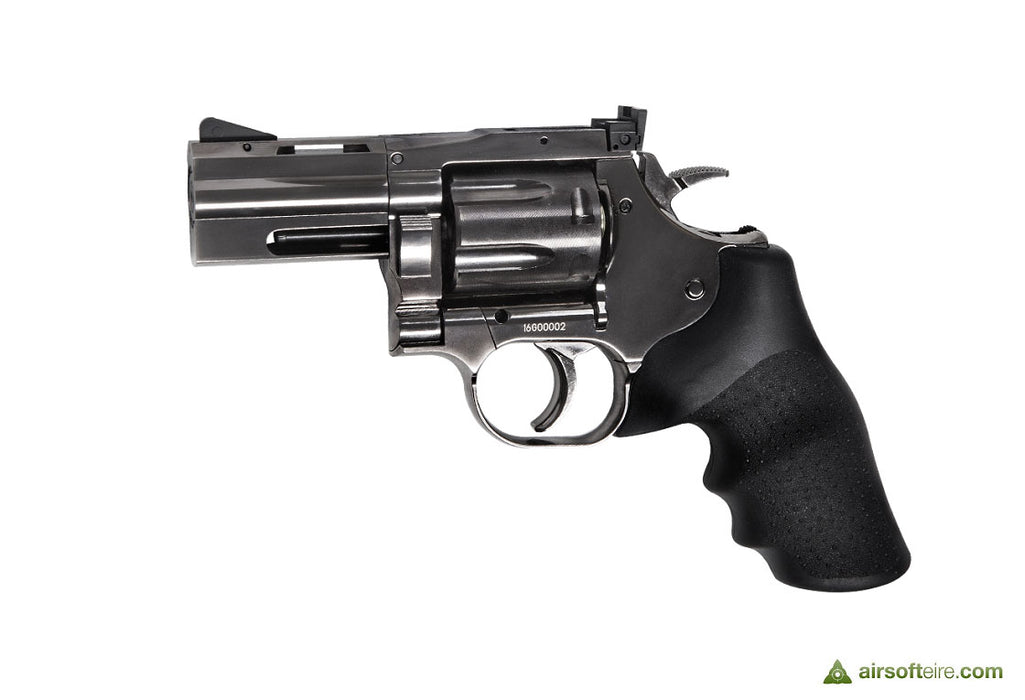 "ASG Dan Wesson 715 2.5"" Revolver - Steel Grey"