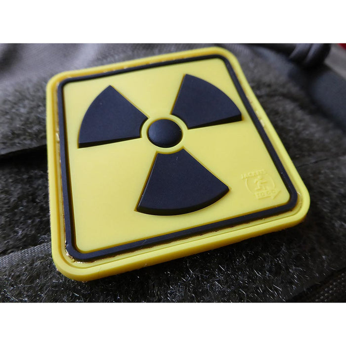 JTG 3D Rubber H3 Radioactive Patch - Fullcolour