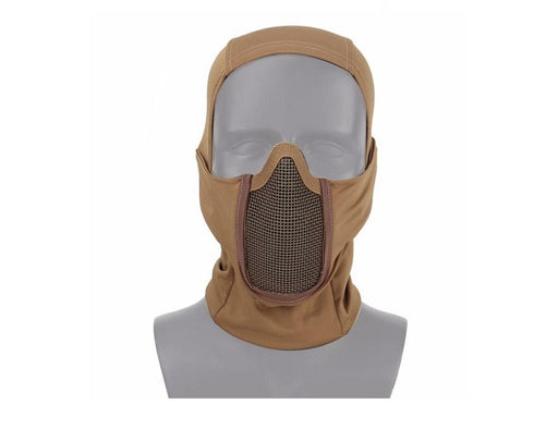 Invader Gear Mk.III Steel Half Face Mask - Tan
