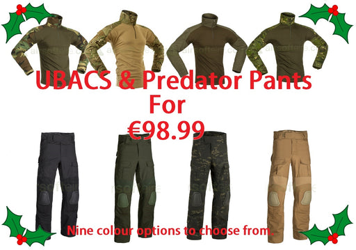 Invader Gear UBACs & Predator Pant Christmas Deal