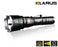 Klarus XT12GT Flashlight & Battery - 1600LM