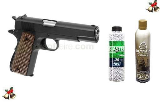 WE M1911 Pistol, Ultrair & Blaster BB Deal