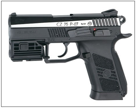 ASG Laser Unit for CZ75 P-07/Duty One/Glock Series