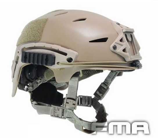 FMA Wendy Exfil-Style Bump Helmet - Dark Earth
