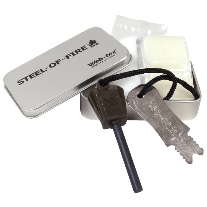 Web-Tex Steel-of-Fire Starter Kit