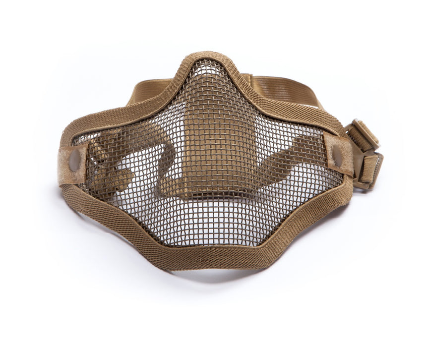 ASG Mesh Half Face Mask - Tan