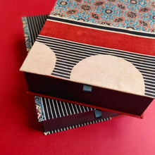 Load image into Gallery viewer, Hand Block Printed Storage Boxes
