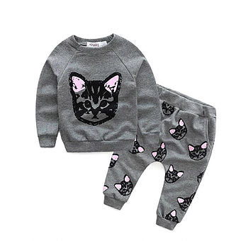 Cats! Cats! Cat! Top & Trousers