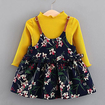 Judy Flower Top Dress