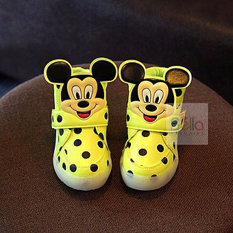 Mickey Mouse Shoes with lights