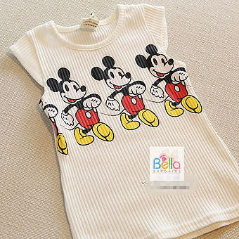 Mickey Mouse Top & Fade Dress
