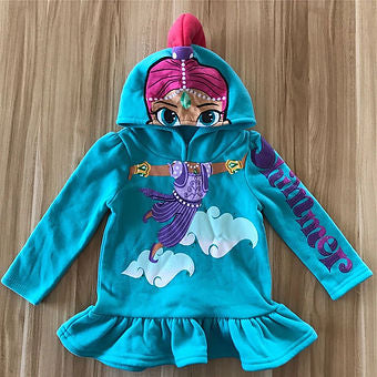 Shimmer and Shine Dress Hoodie