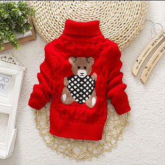 BearRipple Warm Neck Jumpers