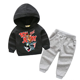 Tom and Jerry Hoodie & Trousers