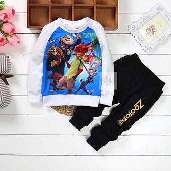Zootopia Top & Trouser Set