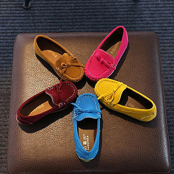 Colour Bowknot Shoes