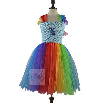 Little Pony Colorful Dress