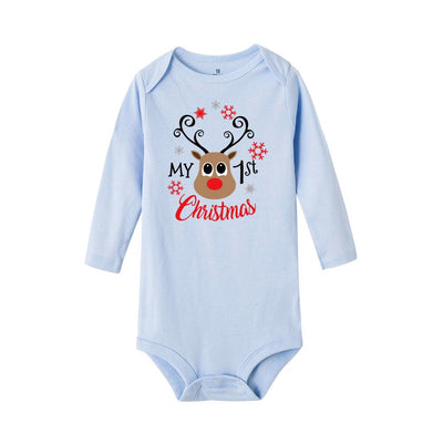 1st Christmas Rompers