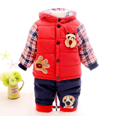 Tap Teddy Warm Coat