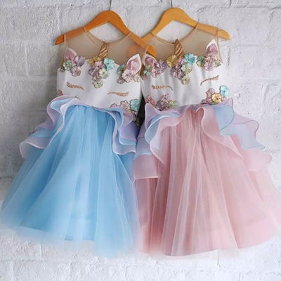 Unicorn Sleeveless Dresses