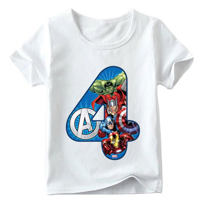 Avengers Birthday Shirts