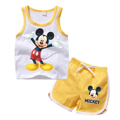Mickey Mouse Sweatshirt and Shorts