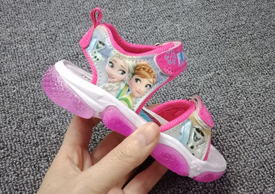 Elsa and Anna Frozen Sandles