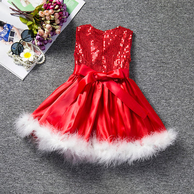 Christmasy Red Dress