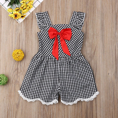 Daisy Check Dress