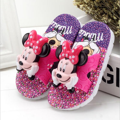 Mickey and Minnie Flip Flops