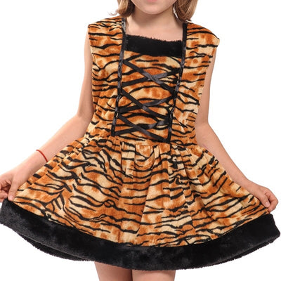 Halloween Tiger Dress