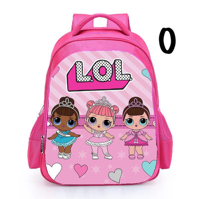 Personalised Name LOL Surprise Backpacks
