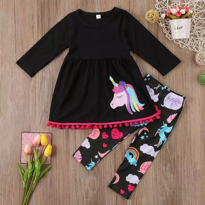 Rainbow Unicorn Top and Trousers
