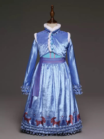 Anna Snow Queen Dress