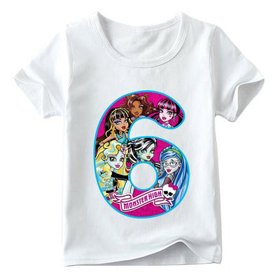 Monster High Birthday Shirts