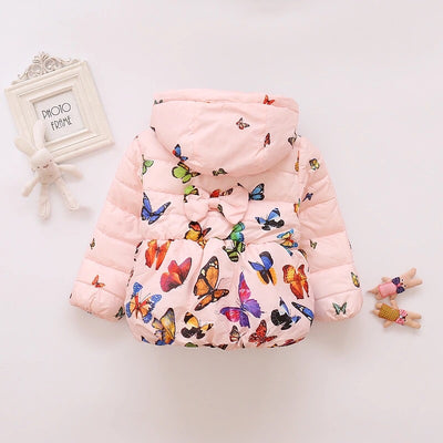 Butterfly Floral Coat