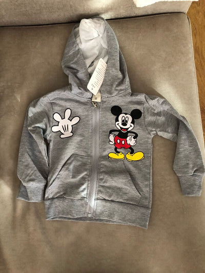 Mickey Mouse Hoodie, Shirt, Trouser Set