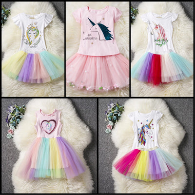 Almighty Unicorn Fashion Dresses