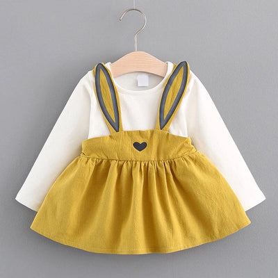 Heart Ear Bunny Dress Top