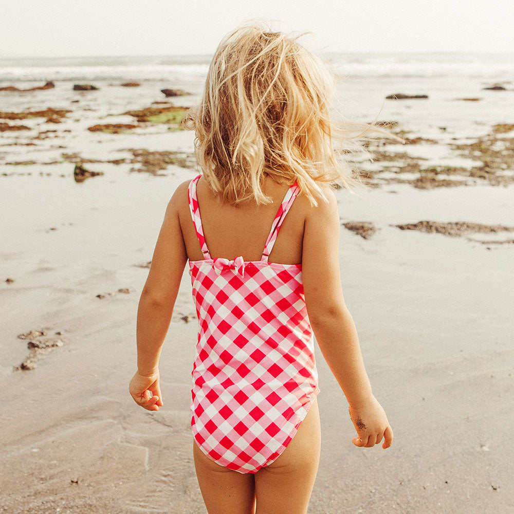 Pinky Chess Swimsuit