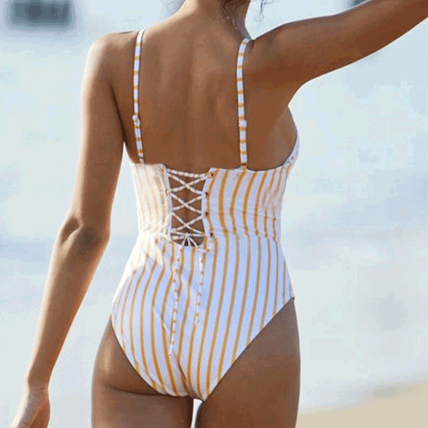 Stripe Swimsuit  - Buy swimwear at BelaBikini